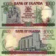 Ouganda - Uganda 1000 SHILLINGS (1998) Pick 36 NEUF (UNC) - Ouganda