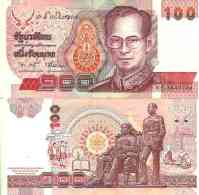 Thaïlande - Thailand 100 BAHT 1994 - Pick 97 (Sign 75) Unc - Thaïlande