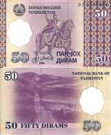Tadjikistan 50 DIRAM Pick 13 NEUF - Tadjikistan
