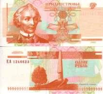 Transnistrie 1 RUBLE Pick 34 NEUF - Billets