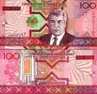 Turkménistan 100 MANAT Pick 18 NEUF - Turkménistan