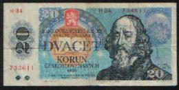 Tchécoslovaquie 20 KORUN Pick 95 TTB - Tchécoslovaquie