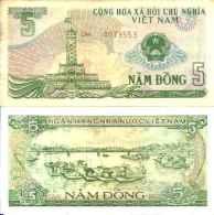 Viêt Nam Du Nord 5 DÔNG Pick 92 TTB - Vietnam