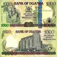 Ouganda - Uganda 1000 SHILLINGS 2009 - Pick 43c UNC - Uganda