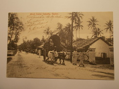 Carte Postale -  SRI LANKA - Road Street Colpetty, Ceylon 1906 (1381) - Sri Lanka (Ceylon)