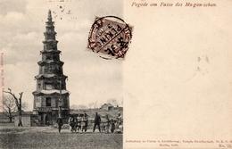 CHINE - PAGODE AM FUSSE DES MA-GAN-SCHAN - Chine