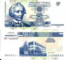 Transnistrie - Transnistria - 5 RUBLEI 2000 - Pick 35 NEUF UNC - Banknoten