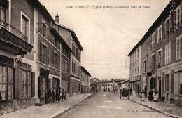 PONT EVEQUE -38- LA ROUTE VERS LA POSTE - France