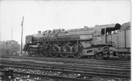 ¤¤  -  PARIS  -  Carte-Photo  -  LA VILLETTE  -  Locomotives Française  -  Chemin De Fer  -  ¤¤ - Arrondissement: 19