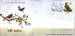 India 2016  Birds  Nicobar Pigeon  Cover    # 95081   Inde Indien - Songbirds & Tree Dwellers