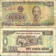 Viêt Nam Du Nord 1000 DÔNG Pick 106a TB - Vietnam