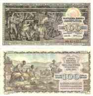 Narodna Banka 100 DINARA Pick 68 SUP - Yugoslavia