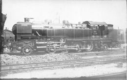 ¤¤  -  PARIS  -  Carte-Photo  -  LA VILLETTE  -  Locomotives EST Série 12  -  Chemin De Fer  -  ¤¤ - Arrondissement: 19
