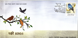 India 2016  Birds  Nilgiri Flycatcher  Cover    # 95079   Inde Indien - Songbirds & Tree Dwellers