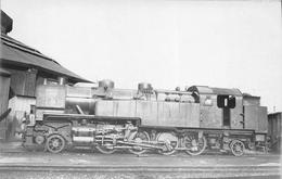 ¤¤  -  PARIS  -  Carte-Photo  -  LA VILLETTE  -  Locomotives  N° 141 - 706  -  Chemin De Fer  -  ¤¤ - Distretto: 19