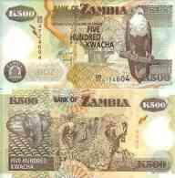 Zambie - Zambia 500 KWACHA (2011) Pick 43h UNC - Zambia