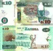 Zambie - Zambia 10 KWACHA New 2012 - UNC - Zambia