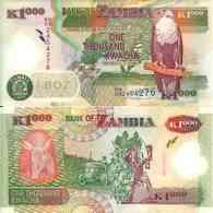 Zambie - Zambia 1000 KWACHA (2009) Pick 44g UNC - Zambia