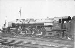 ¤¤  -  PARIS  -  Carte-Photo  -  LA VILLETTE  -  Locomotives EST Série 13  -  Chemin De Fer  -  ¤¤ - Arrondissement: 19