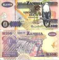 Zambie - Zambia 100 KWACHA (2010) Pick 38i TTB - Zambia