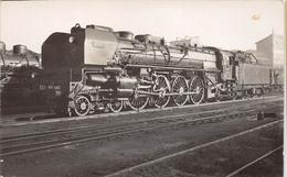 ¤¤  -  PARIS  -  Carte-Photo  -  LA VILLETTE  -  Locomotives EST N° 241 - 040  -  Chemin De Fer  -  ¤¤ - Arrondissement: 19