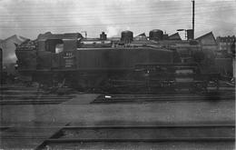 ¤¤  -  PARIS  -  Carte-Photo  -  LA VILLETTE  -  Locomotives EST - Série 11  -  Chemin De Fer  -  ¤¤ - Arrondissement: 19