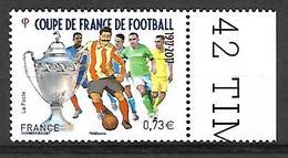 France 2017 - Yv N° 5145 ** - Centenaire De La Coupe De France De Football (Mi N° 6747) - France