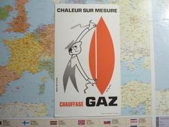 Chauffage Gaz 1 - Buvards, Protège-cahiers Illustrés