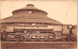 ¤¤  -  CHALONS-sur-MARNE   -  Carte-Photo  -  Train En Gare , Chemin De Fer   -  ¤¤ - Châlons-sur-Marne