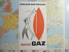 Chauffage Gaz 2 - Buvards, Protège-cahiers Illustrés