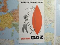 Chauffage Gaz 3 - Buvards, Protège-cahiers Illustrés