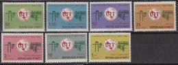 HAITI 534-36 + LP/PA 311-14 MNH  ** Centenaire UIT – Centenary UTI 1965 - Haïti
