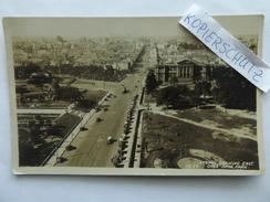 Sidney, Blick Nach Osten, über Hyde-Park, Luftbild, Gel 1932 - Sydney