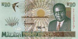 Malawi 20 Kwacha 1995  Pick 32 UNC - Malawi