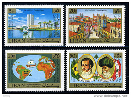 1973 - LIBANO - LEBANON - Scott Nr.  C686/C689 - Mi 1183/1186 -  NH - (S12102013.....) - Libanon