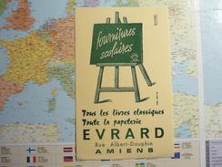 EVRARD Amiens Fournitures Scolaires 1 - Buvards, Protège-cahiers Illustrés