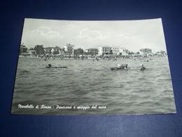 Cartolina Marebello Di Rimini - Panorama E Spiaggia Dal Mare 1962 - Rimini