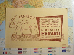 EVRARD Amiens Rentrée ! 2 - Buvards, Protège-cahiers Illustrés