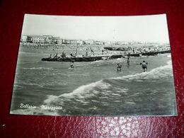 Cartolina Bellaria - Mareggiata 1954 - Rimini