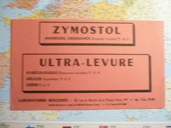 Laboratoires Biocodex Zymostol/Ultra-levure / Rouge - Buvards, Protège-cahiers Illustrés
