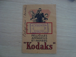 POCHETTE KODAKS M.FOURTIN 27 AVENUE BARADUC CHATEL-GUYON - Vieux Papiers
