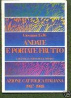 TESSERA AZIONE CATTOLICA ITALIANA - 1987/88 - Vecchi Documenti