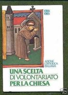 TESSERA AZIONE CATTOLICA ITALIANA - 1984/85 - Vecchi Documenti