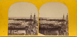 Ramsgate, Twyman, John Crow, Harbour, Tall Ships - Stereo-Photographie