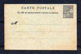 !!! POSTE ENFANTINE : ENTIER POSTAL 10C SEMEUSE LIGNEE - 1903-60 Sower - Ligned