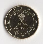 50 CENT  MONACO 2017  ALBERT II  / NEUVE - Monaco