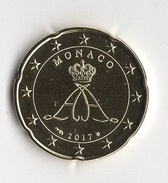 20 CENT  MONACO 2017  ALBERT II  / NEUVE - Monaco