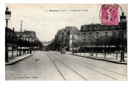(14872-35) Rennes - Avenue De La Gare - Rennes