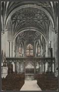 Rood Screen & Chancel, Tewkesbury Abbey, Gloucestershire, C.1910s - Valentine's Postcard - Otros
