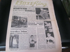 RIVISTA BOXE RING 27 NOVEMBRE 1958 - Cinema